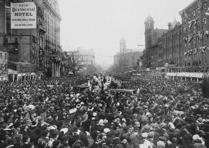 Washington, D.C. 1913Women's suffrage march on Pennsylvania Avenue