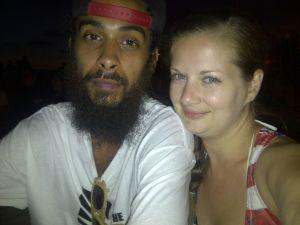 Jeremy and Courtney in LA