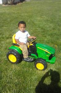 Mason the farmer